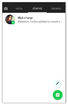Страница пользователя в GB WhatsApp